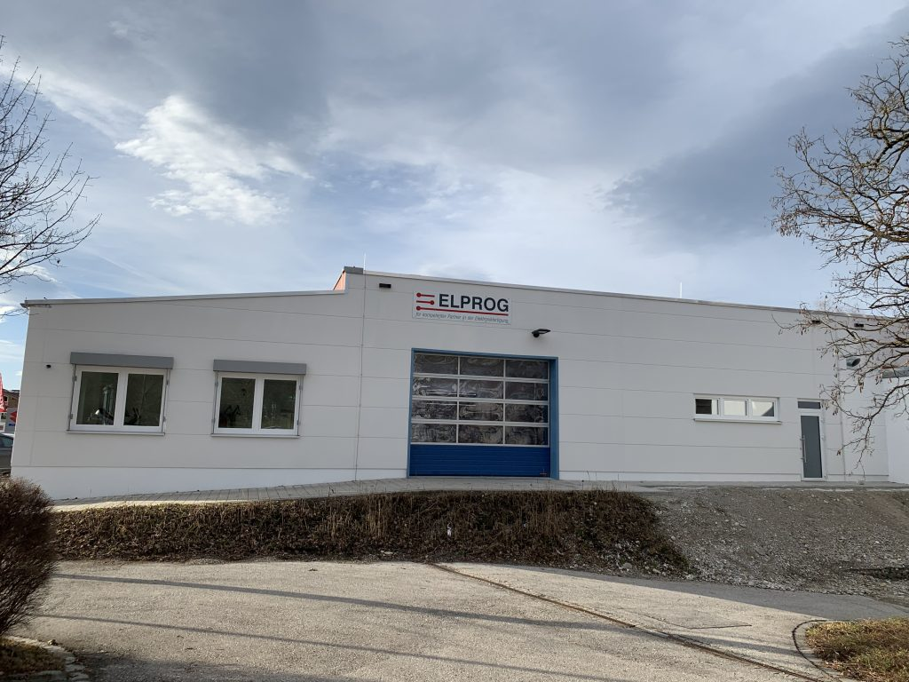 Elprog neues Gebäude