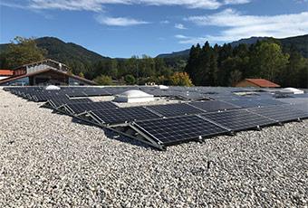 PV-Anlage auf einem Dach
